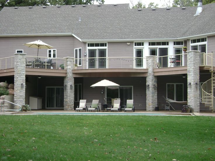 17 Best images about Deck with Walkout Basement on ... on Walkout Basement Patio Designs id=64930