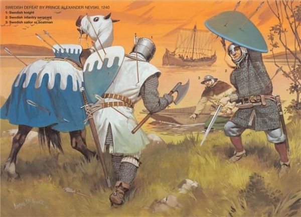 The Scandinavian Baltic Crusades 1100–1500, Swedish Defeat ...