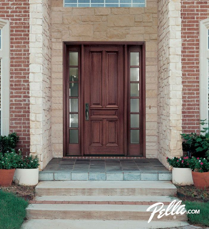 Enjoy Walking Up To Your Home S Entrance With A Pella Wood