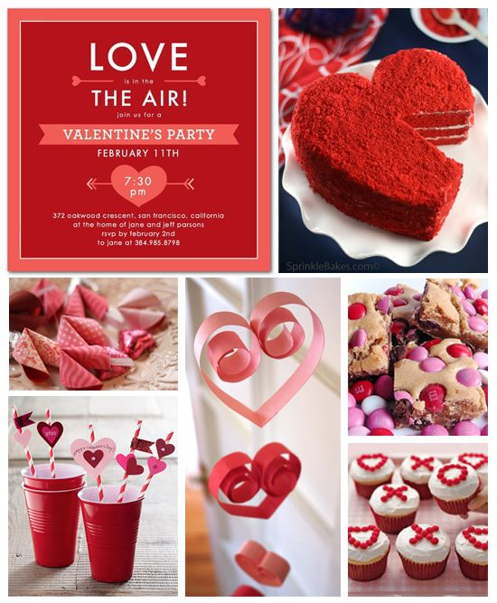 Valentine's Day Party Inspiration Board | Inspiration ...