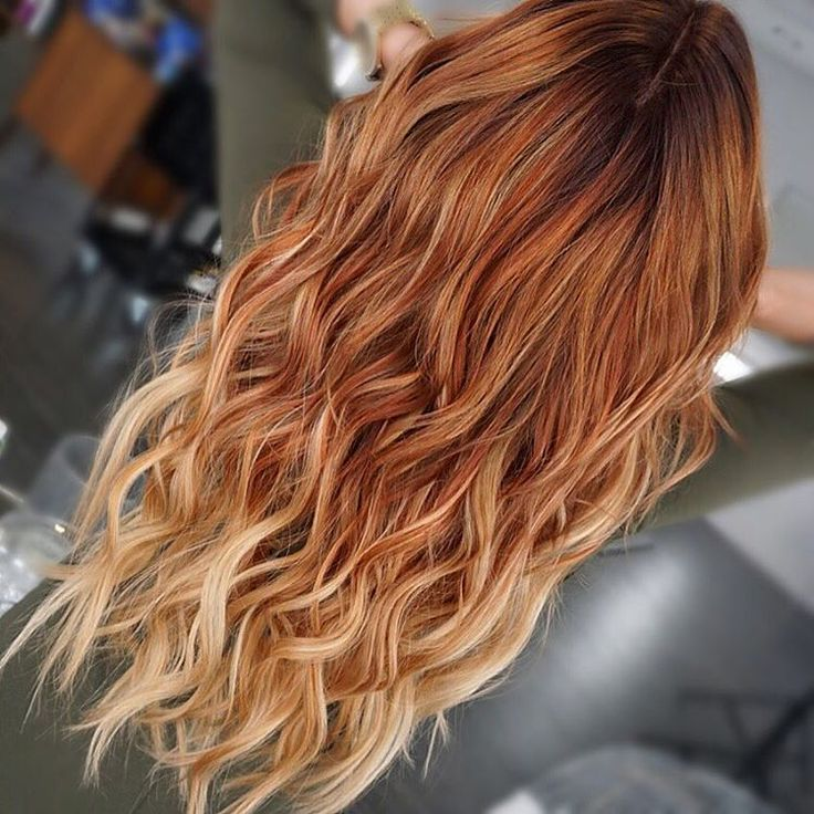 Redhead Reverse Ombre Hair Amp Makeup Pinterest Ombre