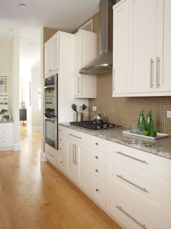 kitchens that maximize small footprints wall ovens on kitchen id=26124