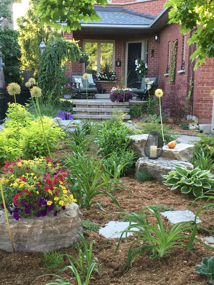 1143 best images about Front yard landscaping ideas on ... on Backyard Landscaping Ideas No Grass  id=57449