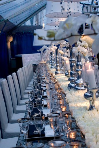 17 Best Images About 50th Birthday Table Setting Ideas And