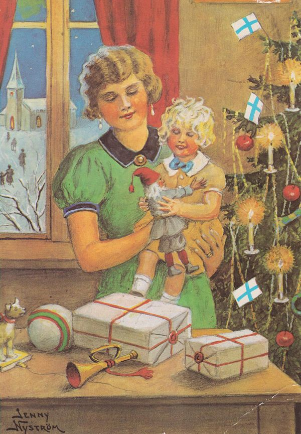Jenny Nystrm Illustrator Swedish Christmas Jenny