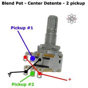 2 Pickup Blend Pot Guitar Wiring | Inspiration | Pinterest | Pots and Guitar