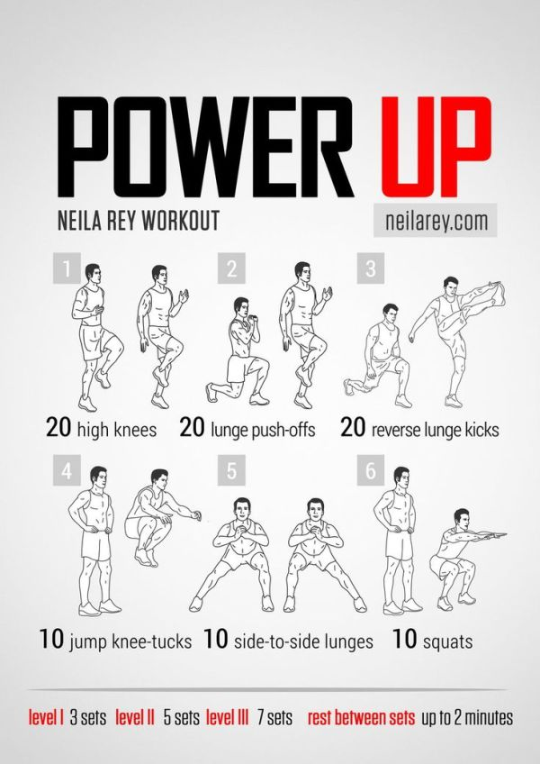 Power Up Workout Neila Rey Workouts