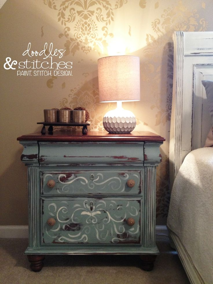 17 Best Images About Night Stands On Pinterest Painted