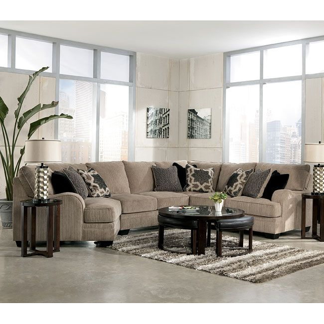 93598 The Katisha Platinum Sectional Collection By