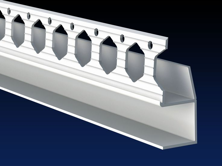 Plaster Bead Used To Create A Shadow Gap Skirting Detail