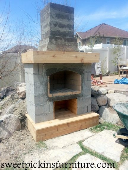 Build My Own Fireplace - WoodWorking Projects & Plans on Building Your Own Outdoor Fireplace id=19387