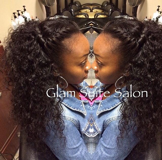 Natural Versatile Curly Sew Inthis Is Cute I Wonder