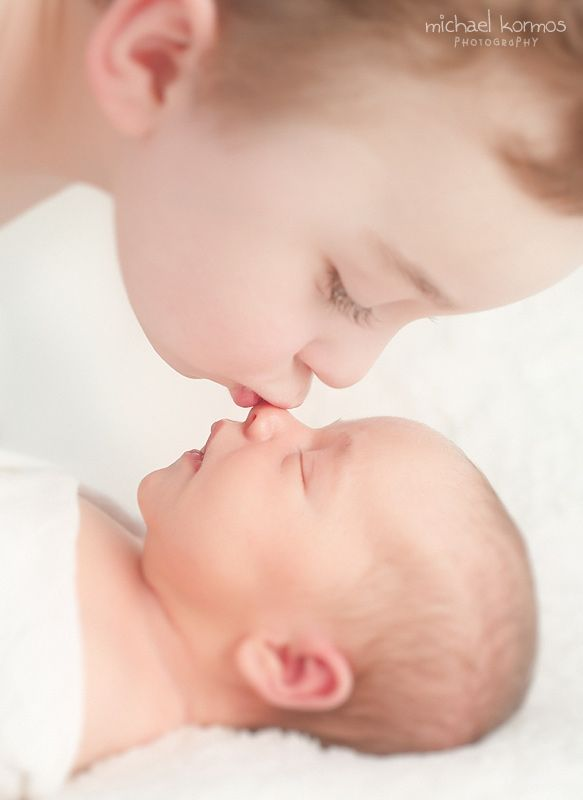 sweetest big brother (newborn photography, newborn photographer nyc)  Family Pho