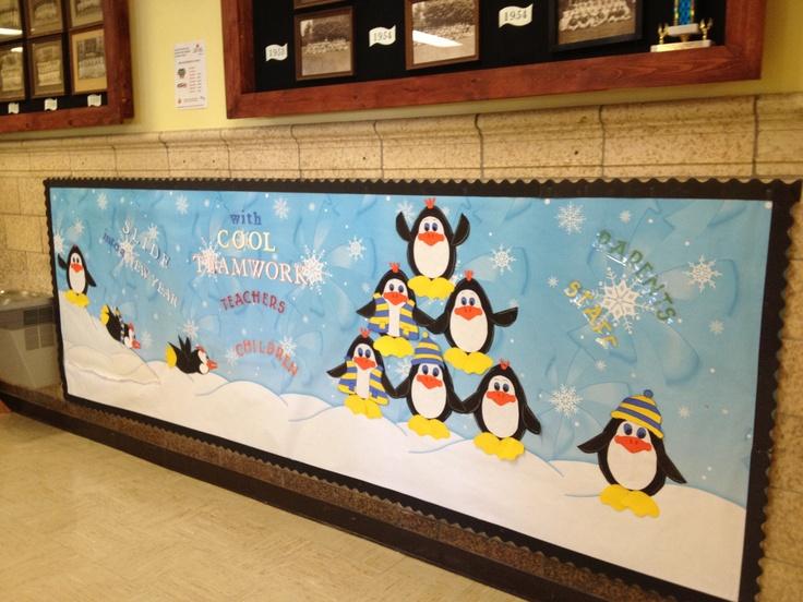 Winter January Elementary School Bulletin Board Ideas