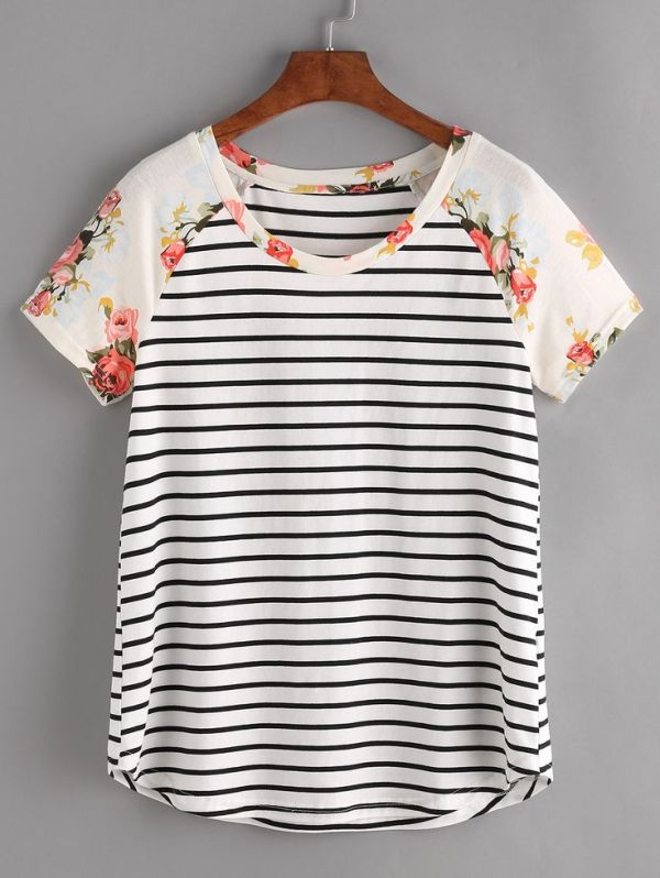 17 Best ideas about Striped Tee on Pinterest | Striped ...