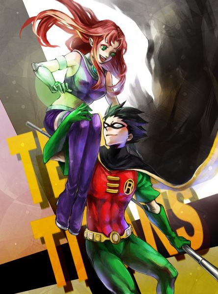 125 best images about Robin and Starfire on Pinterest | A ...