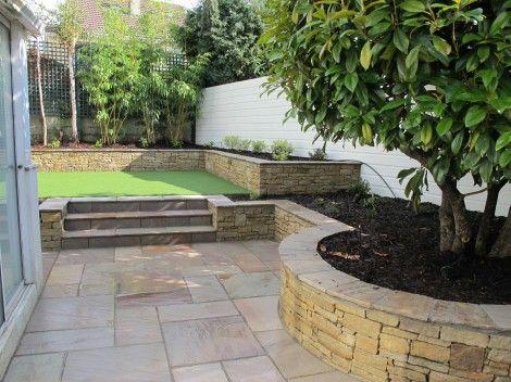 24 best images about SPLIT LEVEL BACK GARDENS on Pinterest on Split Garden Ideas id=95495