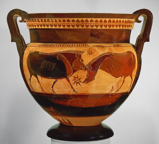 Image result for Greek vase homer strange