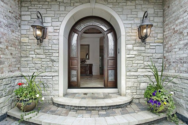 25+ Best Ideas About Stone Porches On Pinterest