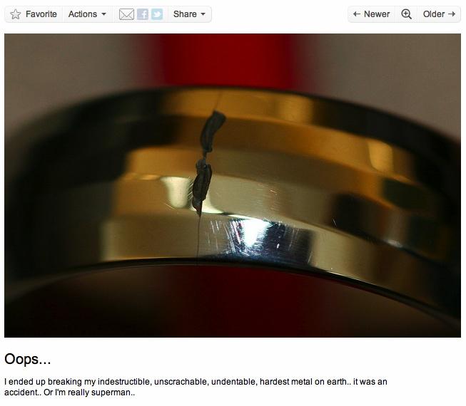 10 Best Images About Broken Tungsten Carbide On Pinterest