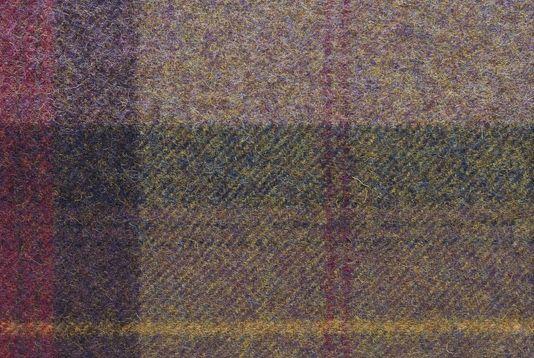 Skye Tartan Fabric 100 Wool Tartan In Heather And Purple