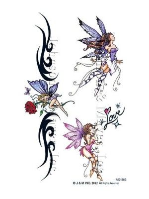 Fairy And Butterfly Tattoos 10 Handpicked Ideas To