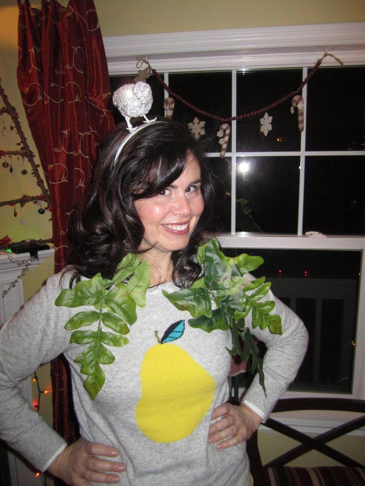 Partridge In A Pear Tree Costume Ideas Pinterest