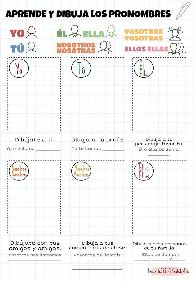 108 Best Images About LENGUAJE GRAMTICA On Pinterest Spanish Sentence Types And Free Items