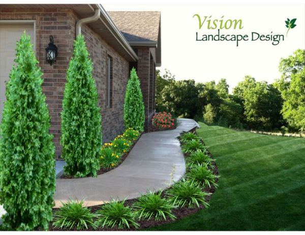 sidewalk garden 25+ best ideas about Sidewalk landscaping on Pinterest