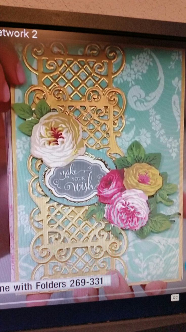 17 Best Images About Card IdeasAnna Griffin On Pinterest