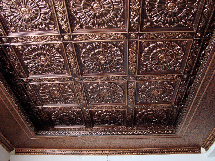 Best 25 Copper Ceiling Ideas On Pinterest