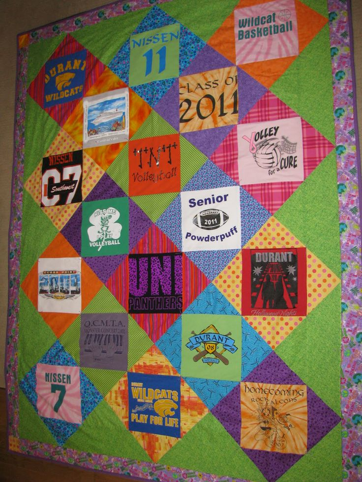 Tee Shirt Quilts Sale