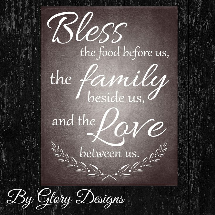 Kitchen Printable Bless The Food Before Us Quote INSTANT DOWNLOAD Us Digital Kitchens And Food