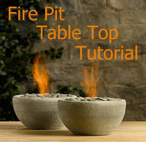 Fire Pit Table Top | Fire P