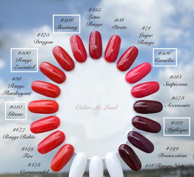 La Nails Nail Polish Color Wheel