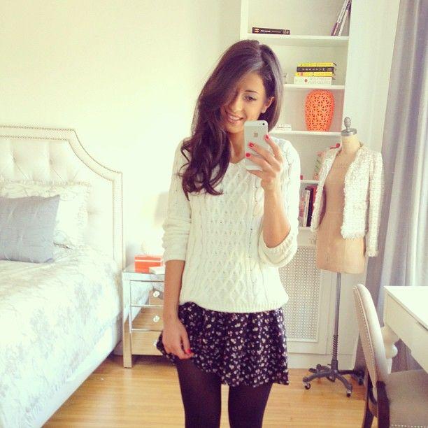 The Floral Skirt Mimi Ikonn