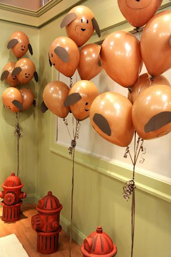 puppy balloons! this is suc