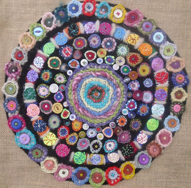 Button Mosaic By Paperali On