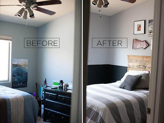 Tween Boy Room Reveal With Glidden Room Paint Colors And
