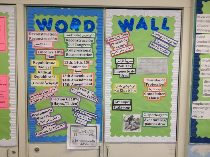 trilingual word wall to support ell students i would use on word wall id=46375