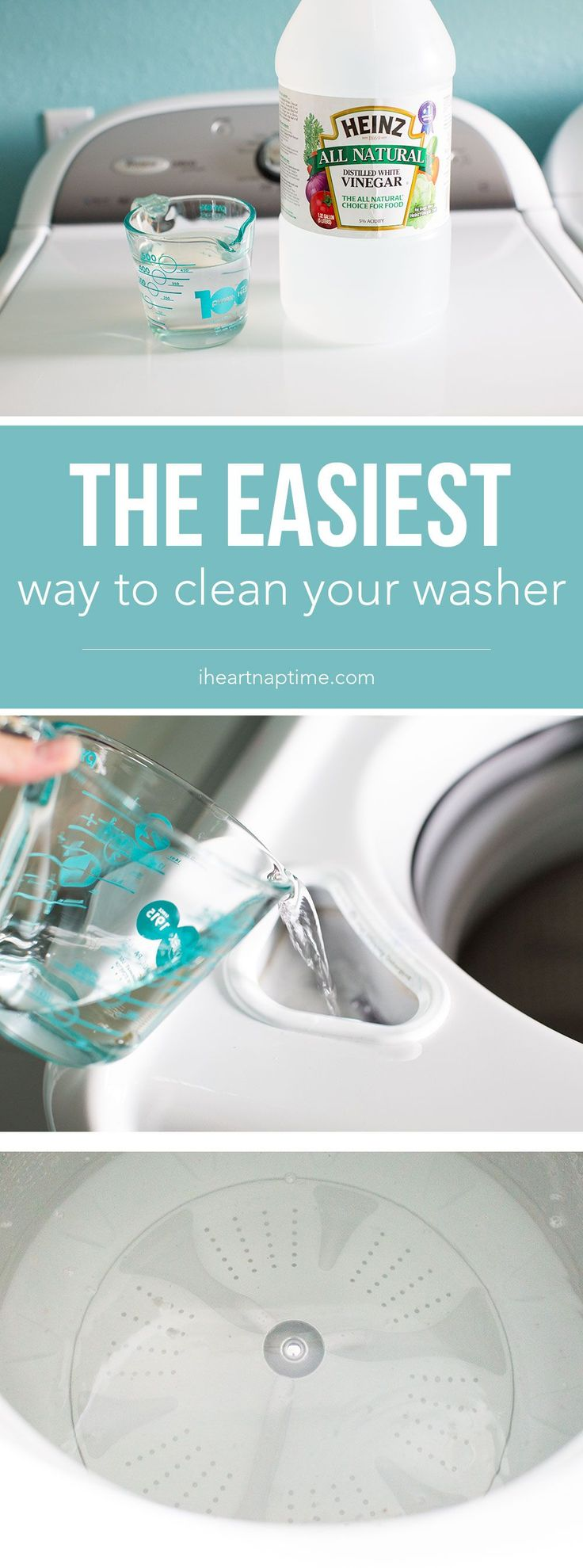 Here is the easiest way to clean your washer …all it takes is ONE ingredient and a few minutes to leave your washer smelling