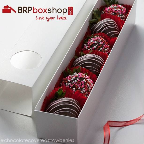 Chocolate Covered Strawberries In BRP Box Shop Macaron