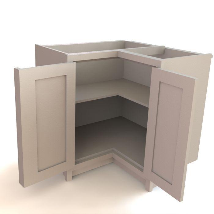 smart corner cabinet door design kitchens forum gardenweb an interesting option for corner on kitchen cabinets corner id=73674