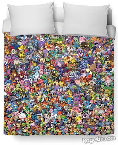 Pokemon Bed Stuffedible