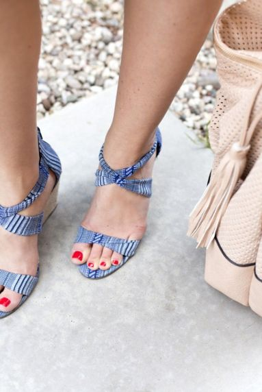 Espadrille Wedge - Colorful & Comfortable