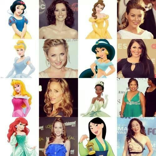 Grey's compared to Disney Characters | Grey's Anatomy ...
