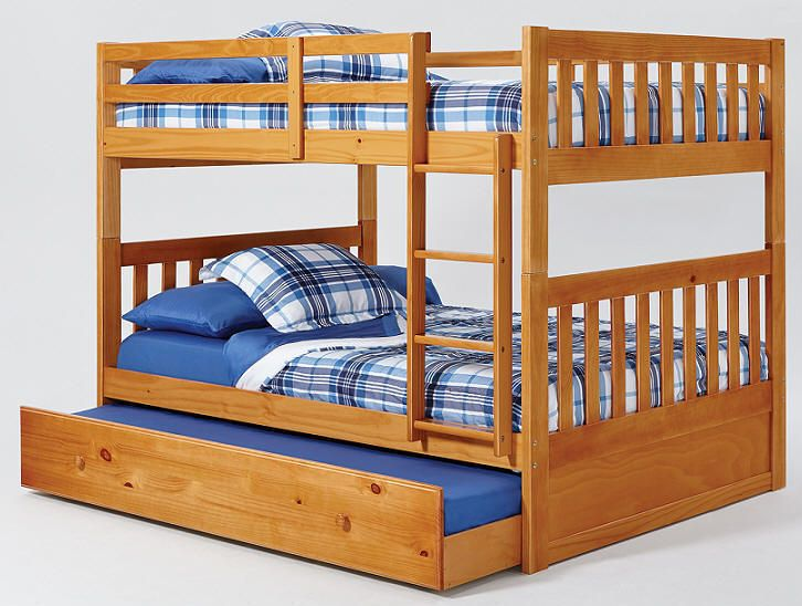 Single Over Full Bunk Bed Plans Woodworking Projects Amp Plans