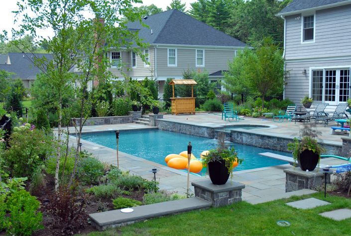 Rectangular Pool Designs | minimalist rectangular swimming ... on Rectangular Backyard Design id=44017