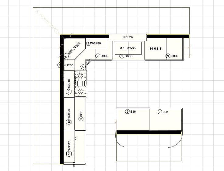 10 X 12 Kitchen Design