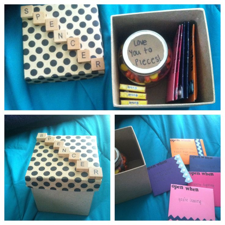 Going Away Gift My Boyfriend When He Leaves For College Open When Cards TaylorOrr College
